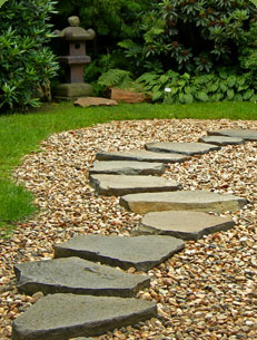 Shades Of Green Gardening Tutorial How To Build A Pea Gravel Stepping Stone